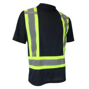 T-Shirt avec bandes réfléchissantes 10-662RM