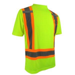 T-Shirt avec bandes réfléchissantes 10-662RY
