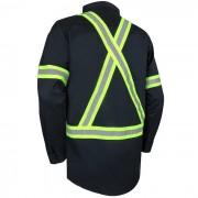 Chemise à manches longues avec bandes réfléchissantes 70-201R